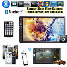 2-DIN 7inch Car MP3 MP5 Player TV FM Bluetooth Touch Screen Stereo Radio USB/AUX