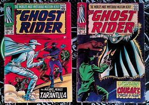 Ghost Rider 2 3 4 5 6 7 Full Run 1966-67 Silver Age Marvel Comics Night Western