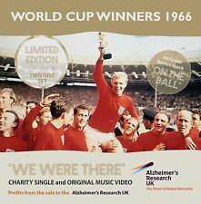 WE WERE THERE - CD & DVD SET ENGLAND WORLD CUP WINNERS 1966 - LIMITED EDITION