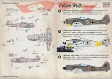 Print Scale 1/72 Focke-Wulf Fw 190A-7 & FW 190A-8 # 72174