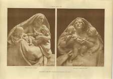 1906 War Office Sculpture, Fatherless Widow Messenger Of Peace