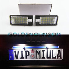 CAN-bus Error Free LED License Plate Lamp Light White For Audi A3 A4 A6 S6 A8 Q7