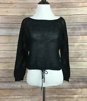 Nicki Minaj Black Crop Top (Size XL)