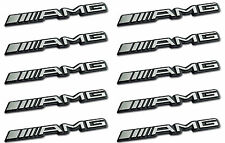 10 AMG Sticker Emblème Logo Autocollants MERCEDES C CL CLS E S SL SLK ML GL B 63 Réparations
