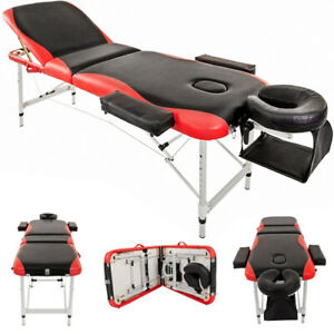 Massage Table Bed Portable Beauty Spa Couch Professional Adjustable Salon UK