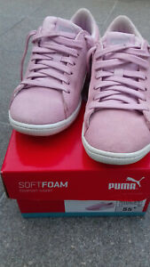 chaussures PUMA rose ( portées 1 fois) taille 37