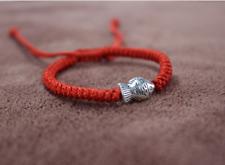 "Una Roja China Feng Shui ""Lucky pescado"" pulsera con dijes ajustable Amuleto de bendición"