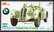 1937 BMW 328 Sports Car Automobile Stamp