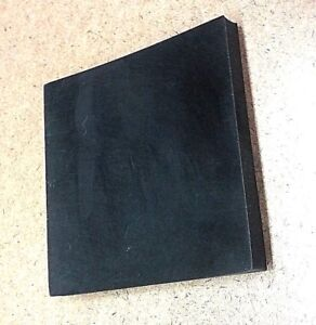 "60A 3//8/"" x 6/"" Wide x 1/' Length 1000 PSI 9 Units SBR Rubber Sheets Black"
