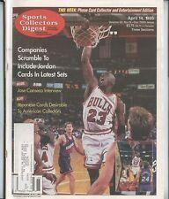 1995 Sports Collectors Digest Chicago Bulls Michael Jordan