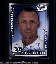 Pavel zubicek HC Kometa Brno 2010-11 top ak +a9054 + a 73547