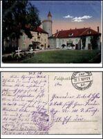 1916 Feldpostkarte 1.Weltkrieg World War Grande Guerre I Chatillon bei CIREY