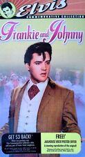 ELVIS PRESLEY, DONNA DOUGLAS - FRANKIE & JOHNNY - MGM / UA - VHS TAPE  - SEALED