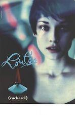 PUBLICITE ADVERTISING 1994   CACHAREL parfum LOULOU