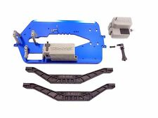 NEW TRAXXAS T-MAXX 3.3 4907 CHASSIS SET WIT BRACES BATTERY RECEIVER BOX EXTENDED