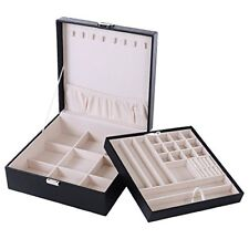 Songmics Jewelry Storage Box Earrings Drawer Organizer Case JDS305B