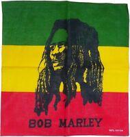 Bob Marley Rasta Jamaica Flag Bandanna Head Wear Bands Scarf Neck