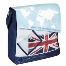 Tourists Shopper Travel Union Jack Water Resistant Bike Pannier Shoulder Bag