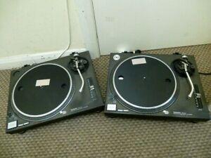 Technics SL-1210 Mk2 record player DJ turntable/s (Pair) - FREE POST