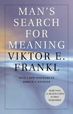 Man's Search for Meaning Paperback By Viktor E. Frankl 0807014273 Free Shipping