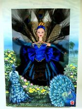 NIB BARBIE DOLL 1998 THE PEACOCK BIRDS OF BEAUTY COLLECTION