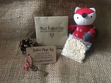 Santa's Magic Christmas Key with personalised tag and reindeer food
