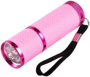 Anself Mini Flash Light for LED UV Gel Curing Lamp Light Handheld Nail Dryer 9