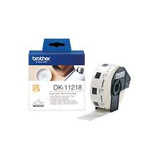 ORIGINALI 1000 ETICHETTE BROTHER DK-11218 24 MM PER P-Touch QL560 QL710W QL720NW