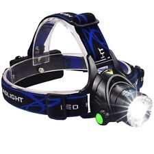 UNBD LED Headlamp/Light (Weatherproof) w/Rechargable Lithium Batteries