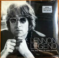 NEW John Lennon Legend Very Best of Double 2 LP Record 1997 USA Pressing BEATLES