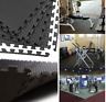 Black Interlocking Eva Mat Soft Foam Flooring Mats Playmat Tile office Gym AQS