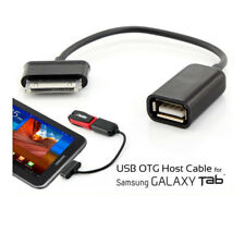 USB Adapter OTG Cable for Samsung Galaxy Tablet 8.0 7.0 10.1 Tab 3, 2 P1000 N800