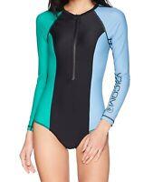 Volcom Women's Swimwear Black Size Small S Simply Solid Swim Bodysuit $85 #386