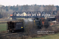 Central Vermont Railway  Sheldon Jct. Vt   5 1 1970  xxx