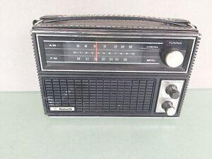 Roberts Pro Line Portable Radio AM/FM/AFC Model R-1212 Works