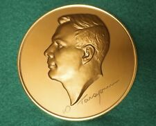 Yuri Gagarin. Medal with stand