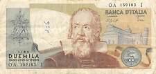 Italy  2000 Lire  22.10.1976  P 103b  circulated Banknote , E20