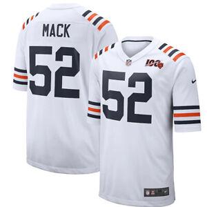 Khalil Mack Chicago Bears Nike 100th Season Alternate Classic Player Game Jersey
