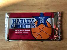 Sealed Pack of Comic Images Harlem Globetrotter Trading Cards 1992 (10 cards)