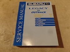 2003 Subaru Legacy and Outback Factory Service Manual Vol 4 Transmission