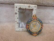 "GORGEOUS G. DEBREKHT Artistic Studios Hand Painted Christmas Ornament Angel 4"""