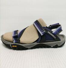 Merrell Astral Aura Women's Purple / Black Strappy Sport Hiking Sandals Size 8 M