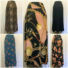 Maxi Skirt Long Skirt Regular,Plus S-3X**Made in USA**Falda Larga tallas grande*