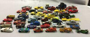 Lot 47 Vehicules Miniatures Voitures Camions SOLIDO Maisto MATCHBOX Burago V
