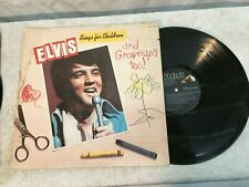 Elvis Sings For Children Record RCA CPL1-2901 STEREO VERY GOOD +