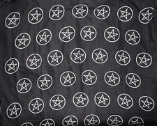 "BLACK PENTACLE ALTAR CLOTH  ~ 40"" x 40"""