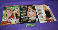 3 Buffy The Vampire Slayer Television Show Magazine Horror Sci Fi Back Issues