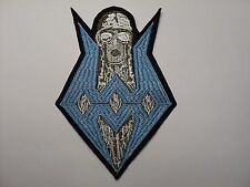 SODOM  BLUE LOGO   EMBROIDERED  PATCH
