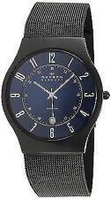 Skagen Blue Dial Titanium Quartz Men's Watch T233XLTMN
