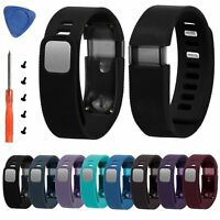 Silicone Replacement Watch Band Wrist Strap with Tool For Fitbit Charge Tracker